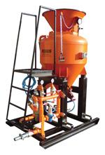 Torkretovacie stroj TTS 400